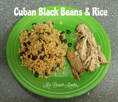 Cuban Black Beans & Rice - Congri