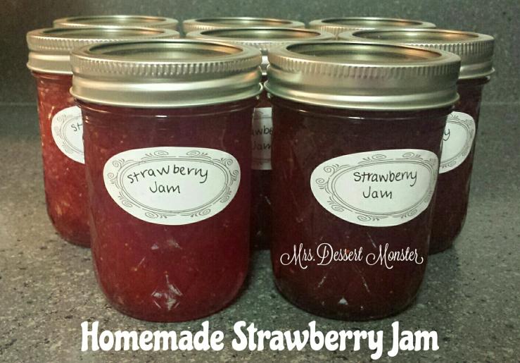 Strawberry Jam Mrs. Dessert Monster