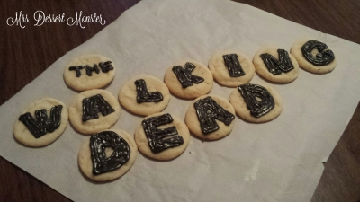 walking dead cookies
