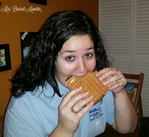 Bacon Waffle Sandwich
