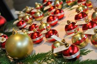 Christmas Red Wedding Favors Ornaments