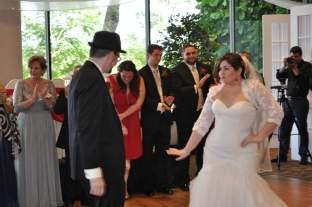 First Dance Christmas Red Wedding