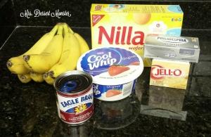 Banana Pudding - Mrs. Dessert Monster