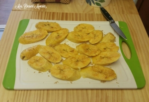 Platano Maduro Frito - Fried Sweet Plantain - Mrs. Dessert Monster