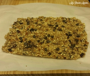 Cranberry Pretzel Chocolate Chip Granola Bars - Mrs. Dessert Monster