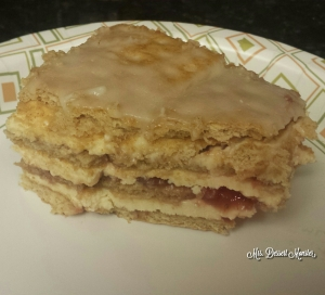 Strawberry Lemon Cheesecake Icebox Cake - Mrs. Dessert Monster