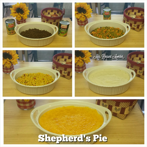 Shepherd's Pie - Mrs. Dessert Monster