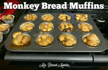 Monkey Bread Muffins - Mrs. Dessert Monster