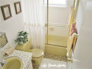 Guest Bathroom Remodel - In Yellow! (1/6)