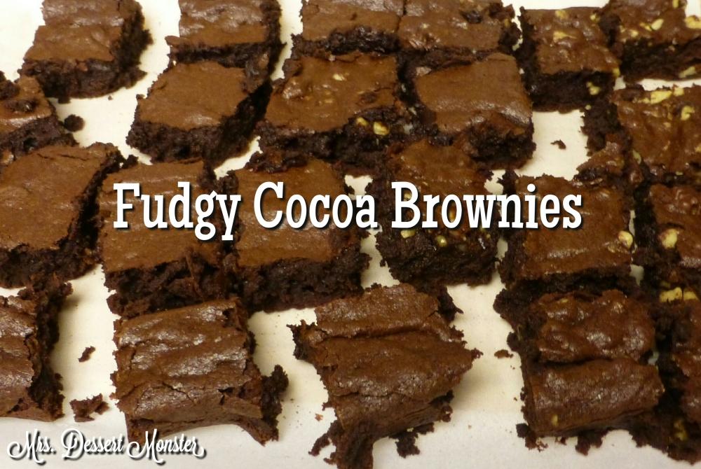 Fudgy Cocoa Brownies (1/5)