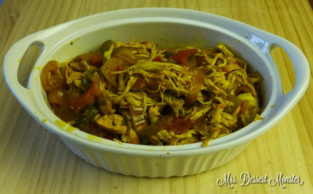 Crockpot Fajitas with Salsa Verde (2/5)