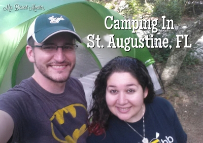 Camping in St. Augustine, FL - Mrs. Dessert Monster