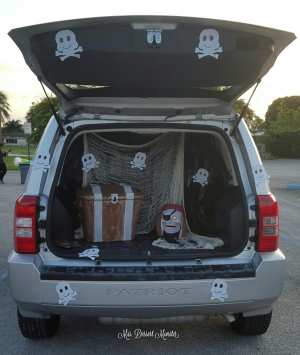 Pirate Trunk Or Treat - Mrs. Dessert Monster