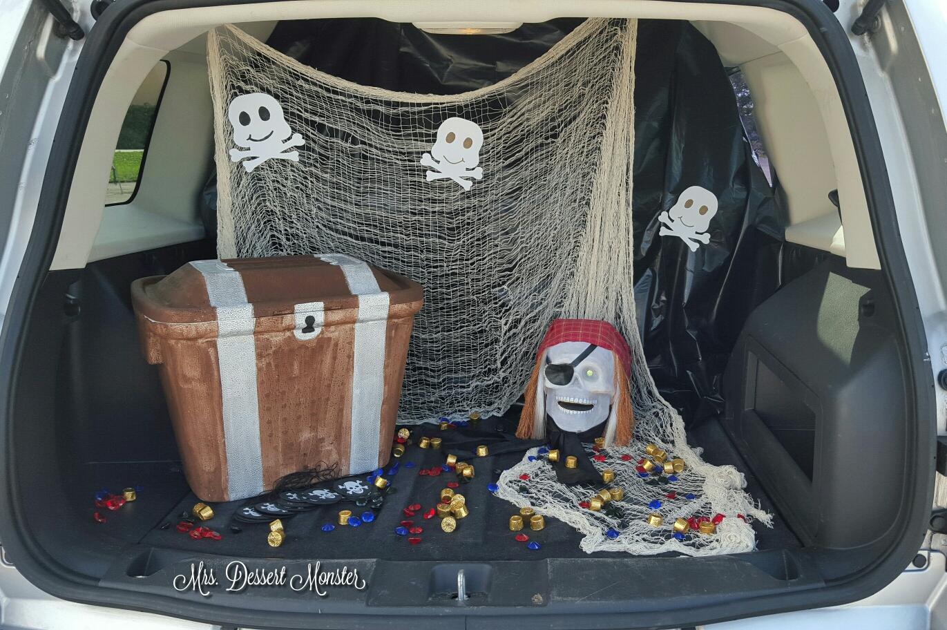 Pirate Trunk Or Treat Mrs Dessert Monster