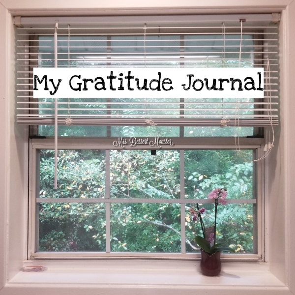 Gratitude Journal Mrs. Dessert Monster