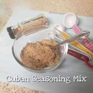 Cuban Seasoning Mix - Mrs. Dessert Monster