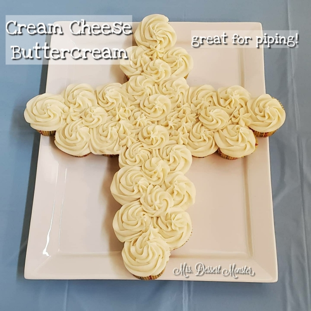 Cream Cheese Buttercream - Mrs. Dessert Monster