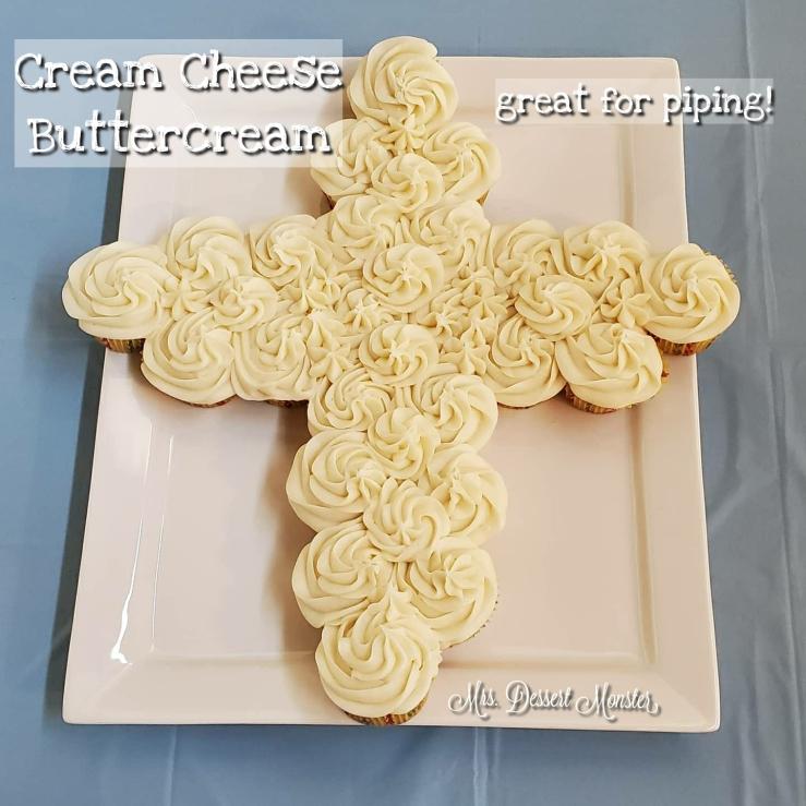 Cream Cheese Buttercream - Mrs. Dessert Monster